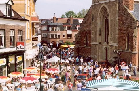 Holland Markt Grenze
